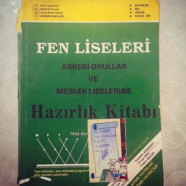 Zamanının en iyi sınava hazırlık kitaplarından. 1992 baskı.  #eski #kitap #sınav #nostalji