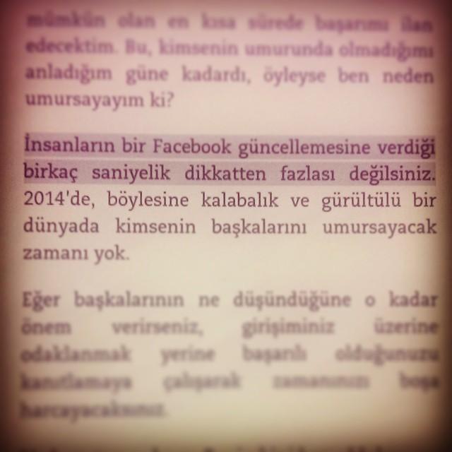Adam haklı. @ali.mese  #girişim #girişimcilik #2014 #dijital #dünya #yaşam #insan