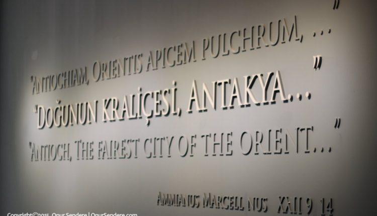 hatay antakya arkeoloji muzesi – onur sendere
