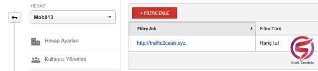 spam trafik google analiytics sonuc