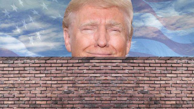 donal trump meksika duvar
